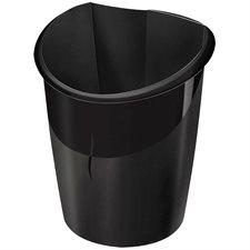 Corbeille de recyclage Ellypse noir