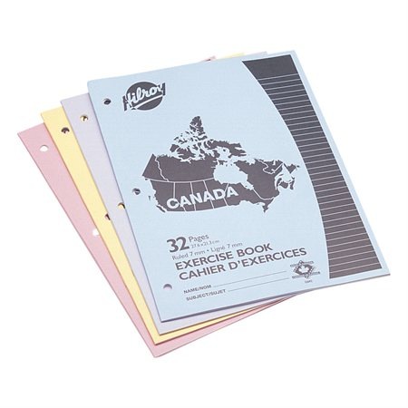 Canada Exercise Book