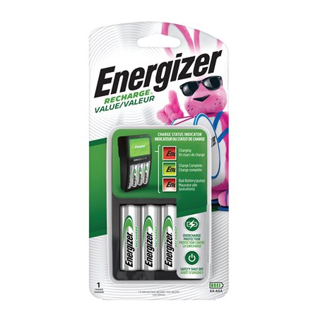 Exceptional Value NiMH Battery Charger