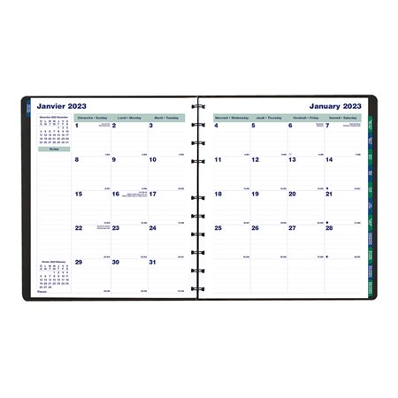 MiracleBind™ Monthly Diary (2021)