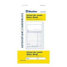 Livret de ventes bilingue