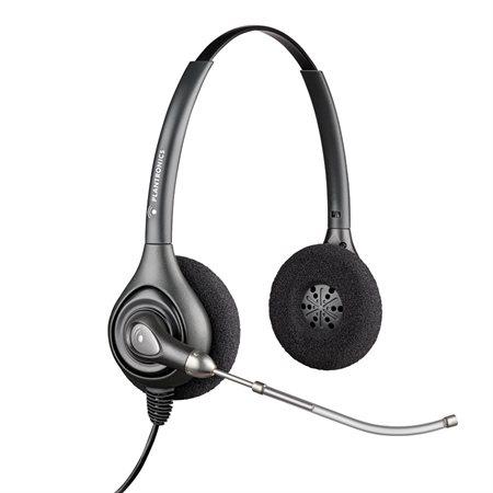 Casque d'écoute SupraPlus HW251  /  HW261 HW261. Écouteur double.