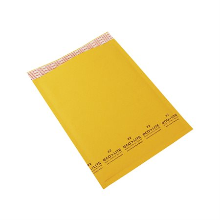 Ecolite Shipping Envelope #2. 8-1 / 2 x 12 in.