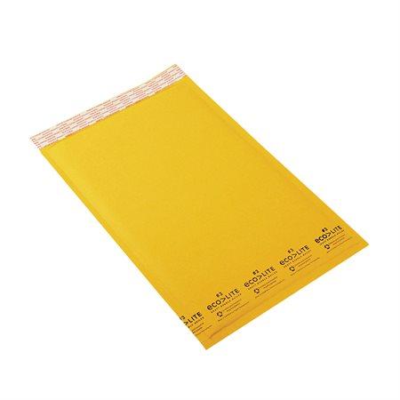 Enveloppe d'expédition Ecolite #3. 8-1 / 2 x 14-1 / 2 po.