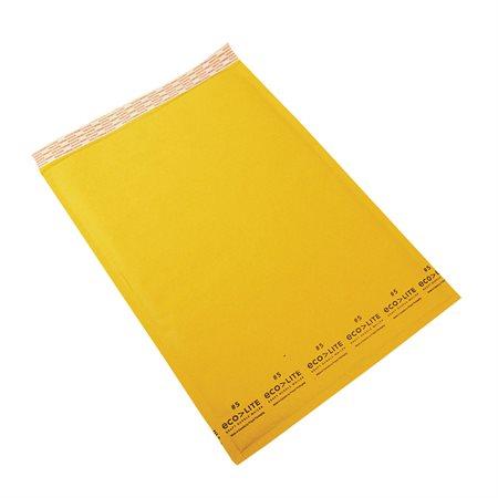 Enveloppe d'expédition Ecolite #5. 10-1 / 2 x 16 po.