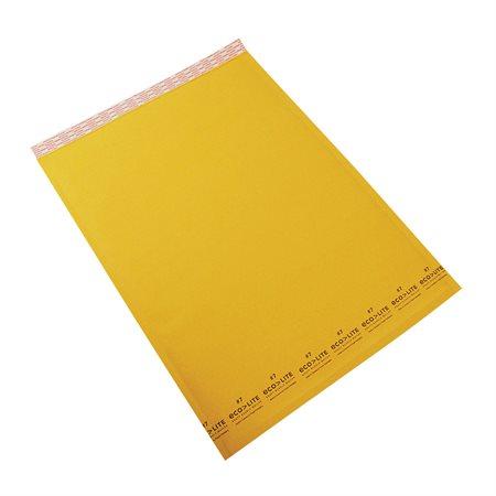Enveloppe d'expédition Ecolite #7. 14-1 / 2 x 20 po.
