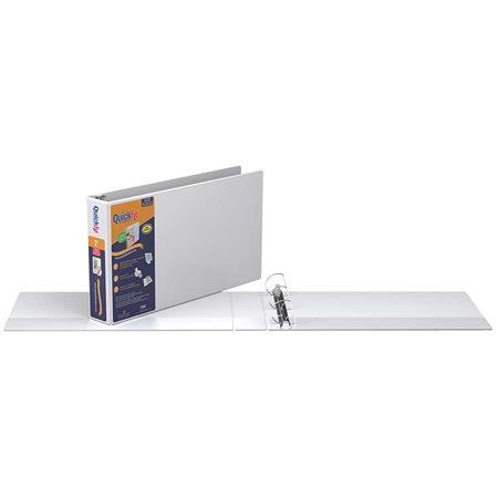 Reliure de présentation format tabloïd Deluxe QuickFit®