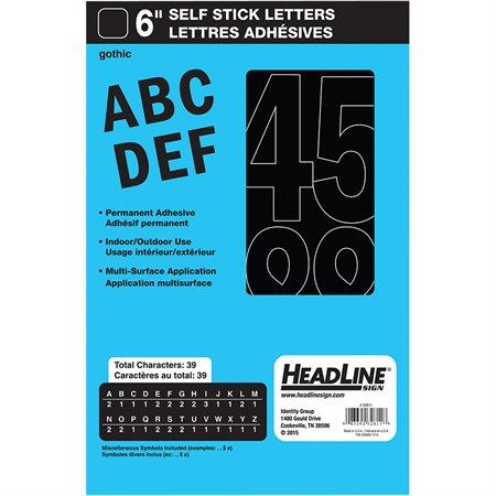 Lettres et chiffres en vinyle Geosign