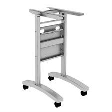 """Table de conférence Tucana Base de table en acier inoxydable pour table 30"""""""