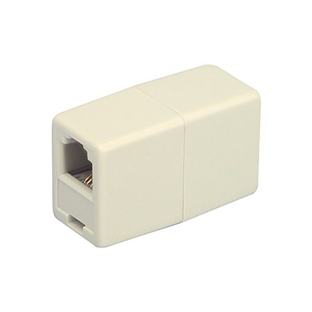 CORD COUPLER IVORY CARD