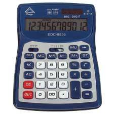Calculatrice de bureau EDC-8856