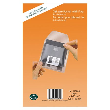 Self-Adhesive Media Pocket