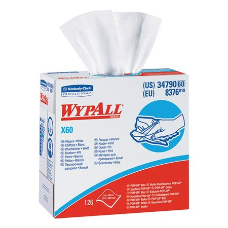 Chiffons essuie-tout WypAll® X60