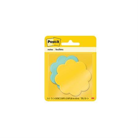 Feuillets spéciaux Post-it® fleur