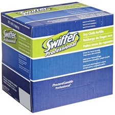 Swiffer Sweeper Dry Sweeping Refill Professional, unscented box 32