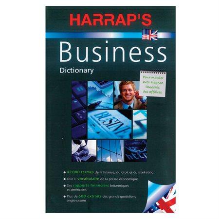 """Dictionnaire """"Harrap's L'Anglais des affaires"""" nouvelle édition"""