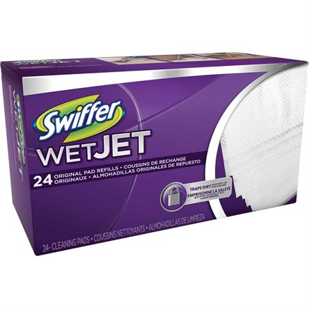 Recharge de linges jetables Swiffer® WetJet® Secs grand air