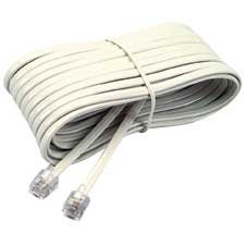 Phone extension cord Male - male 15'