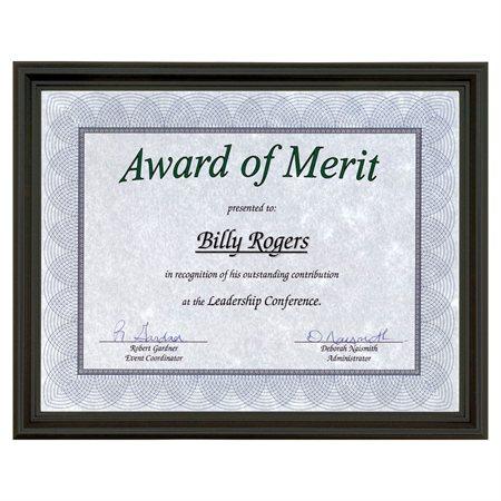 Cadre pour certificat Milano