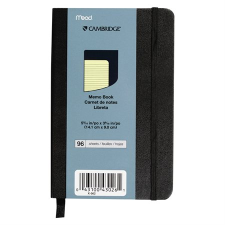 Cambridge® Commercial Memo Notebook