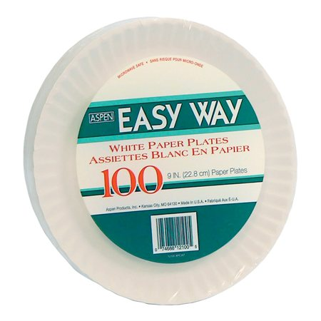 "Assiette de papier 9"" Easy Way"
