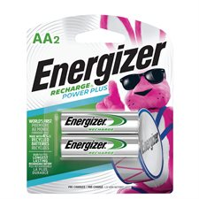 Piles rechargeables Recharge® 2 x AA