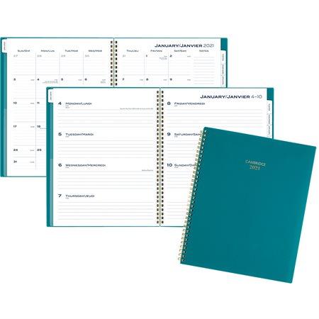 Agenda Hebdomadaire Collection Colour Bar (2021)