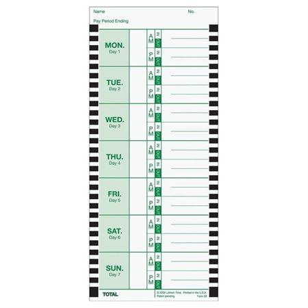 E8 Time Cards