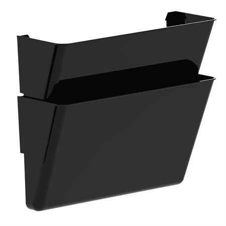 Wall File Set of 2 files, letter size. black