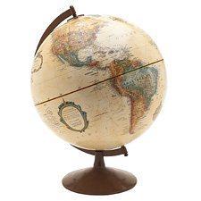 Globe terrestre antique Globemaster
