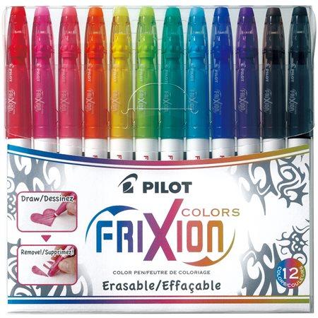 Marqueurs à colorier effaçables Frixion® pqt 12