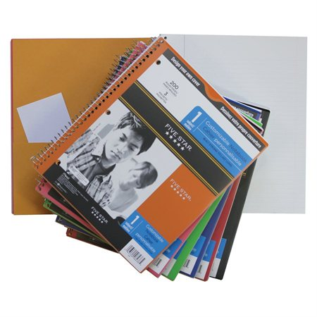 Five Star® Clearview Notebook