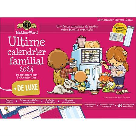 Calendrier familial de frigo MotherWord® (2021) 18 x 13-1 / 2 po. français