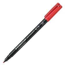 Lumocolor® Permanent Marker Medium. 1.0 mm red