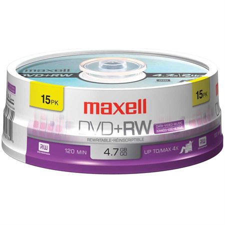 Disque DVD+RW réinscriptible