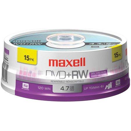 Rewritable DVD+RW Disk