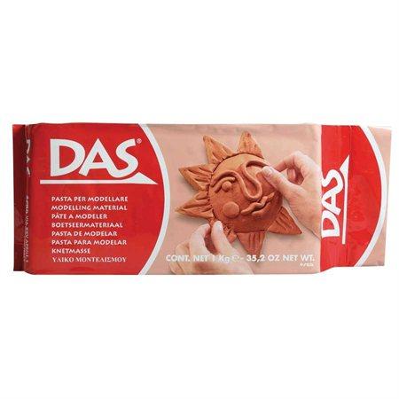 Pâte à modeler DAS® terra-cotta 2,2 lb (1 kg)