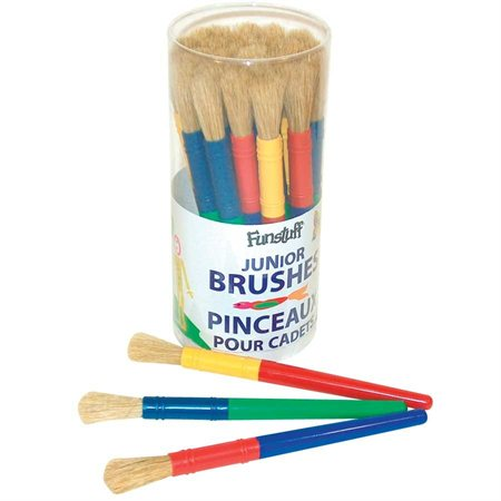Funstuff Round Hog Bristle Brush