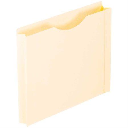 """Chemise pochette Expansion de 1-1 / 2"""". Paquet de 25 format lettre"""