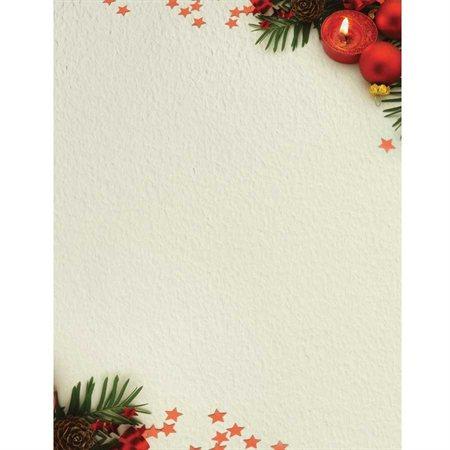 Papier à lettre de Noël