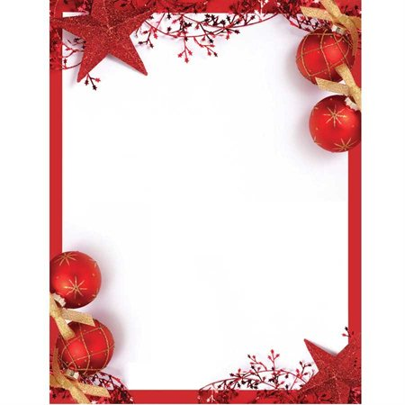 Holiday Lettehead Paper