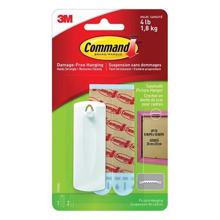 Crochet en dents de scie pour tableau Command™