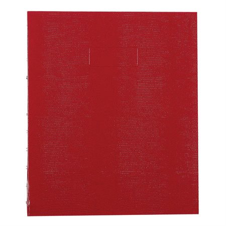 Livre de notes MiracleBind™ 11 x 9-1 / 16 po rouge