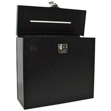 Boîte à suggestions noir