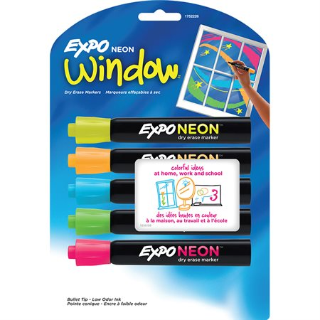 Expo® Neon™ Markers