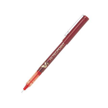 Stylos à bille roulante Hi-Tecpoint V5  /  V7 0,5 mm V5 rouge