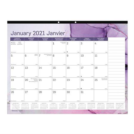 Calendrier sous-main mensuel Quartz (2021)