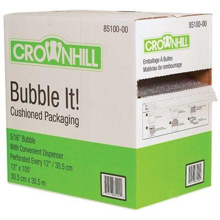 "Emballage à bulles Boîte distributrice 12"" x 100' x 5 / 16"""