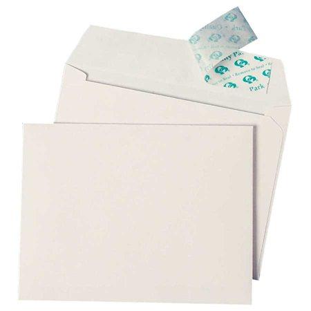 """Enveloppe Redi-Strip™ Pour cartes de souhaits, 5-3 / 4 x 8-3 / 4"""". blanc"""