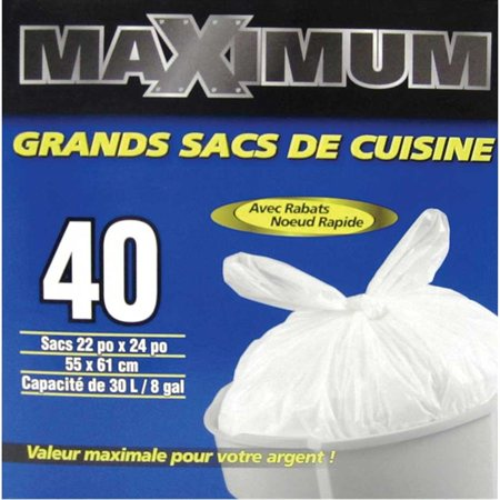 Maximum Kitchen Garbage Bag